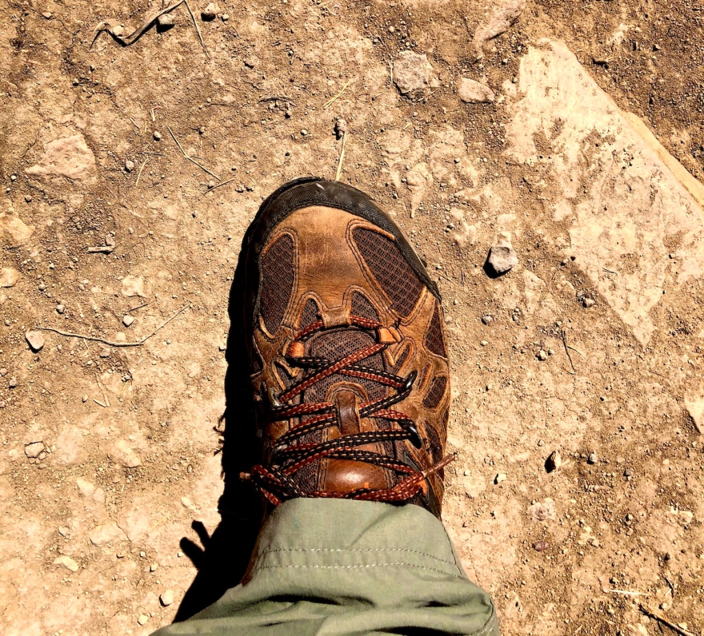 Ideal hiking boot for Big Bend National Park Outer Mountain Loop